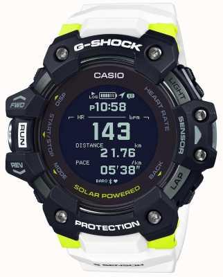 Casio G-shock | g-squad | monitor de freqüência cardíaca | bluetooth | branco | GBD-H1000-1A7ER