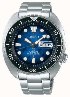 Seiko Homens salvam o oceano | pulseira de aço inoxidável | mostrador azul SRPE39K1