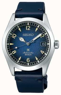 "Seiko Prospex masculino ""alpinista"" | automático | pulseira de couro azul SPB157J1"