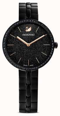 Swarovski Cosmopolitan | bracelete pvd folheado a preto | mostrador preto brilhante 5547646