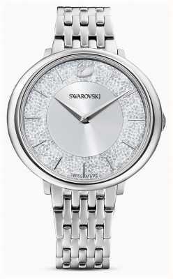 Swarovski Cristalino | pulseira de aço inoxidável | mostrador prateado 5544583