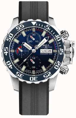 Ball Watch Company Hidrocarboneto de engenheiro nedu | pulseira de silicone preta DC3026A-P3C-BE