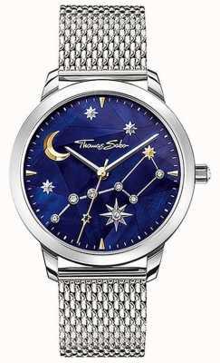 Thomas Sabo | mulheres | espírito cosmo céu estrelado | pulseira em malha de aço | SET_WA0372-217-209-33