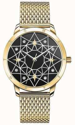 Thomas Sabo | mulheres | espírito cosmo céu estrelado | pulseira de malha de ouro | SET_WA0373-275-203-33