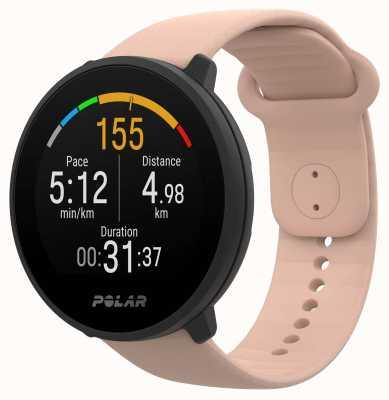 Polar | unir | pulseira de silicone blush | caixa preta | 90084480