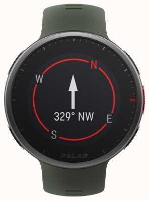 Polar | Vantage v2 premium | relógio multiesportivo | preto / verde | 90083653