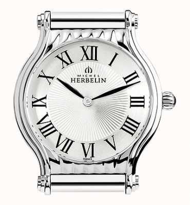 Michel Herbelin Antarès | relógio de aço inoxidável apenas | números romanos H.17447/08