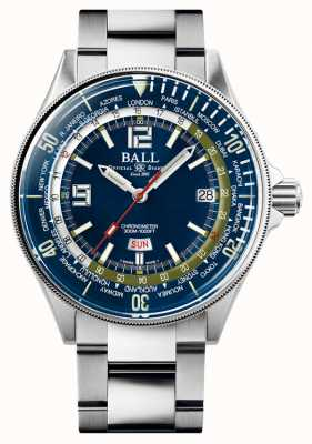 Ball Watch Company Engineer master ii diver worldtime | mostrador azul | 42mm DG2232A-SC-BE
