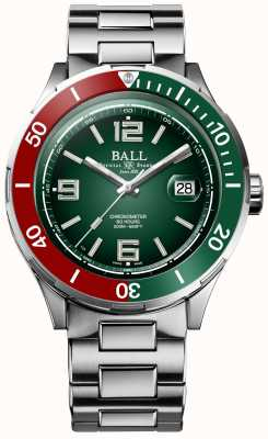 Ball Watch Company Roadmaster m | arcanjo | edição limitada | cronômetro DM3130B-S7CJ-BK