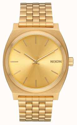 Nixon Caixa de tempo | todo ouro / ouro | pulseira ip em ouro | mostrador de ouro A045-511-00