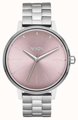 Nixon Kensington | prata / lavanda pálida | mostrador de aço inoxidável A099-2878-00