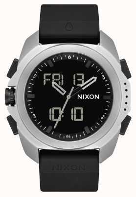 Nixon Ripley | prata / preto | digital | pulseira tpu preta A1267-625-00