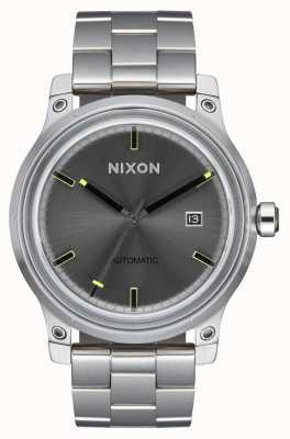 Nixon 5º elemento | preto | pulseira de aço inoxidável | A1294-000-00