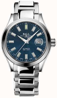 Ball Watch Company Marvelight do engenheiro iii | aço inoxidável | mostrador azul NM2026C-S10J-BE