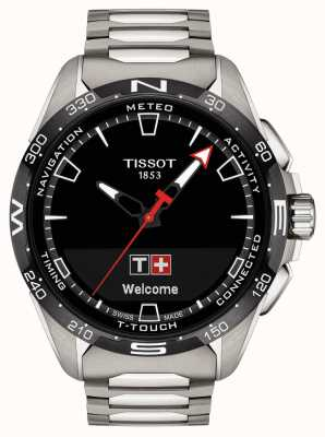 Tissot T-touch conectar solar | titânio T1214204405100