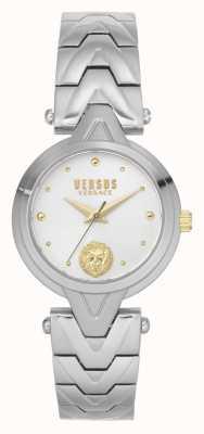 Versus Versace | mulheres | v_versus forlanini | pulseira de aço inoxidável | mostrador prateado | VSPVN0620