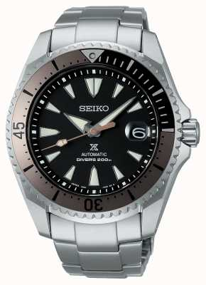 "Seiko Prospex ""shogun"" | pulseira de titânio | mostrador preto SPB189J1"