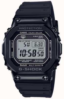 Casio Moldura ip preta com banda de resina G-shock GMW-B5000G-1ER