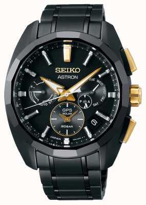 Seiko Astron | edição limitada | gps solar | pulseira de titânio SSH073J1