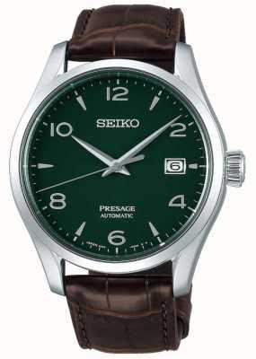"""Seiko Edição limitada masculina de esmalte """"cedro verde"""" SPB111J1"""
