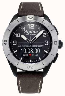 Alpina | alpinerx vivo | pulseira de couro marrom AL-284LBBW5SAQ6