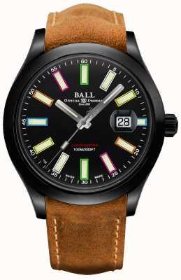 Ball Watch Company Edição limitada do cronômetro automático de titânio de 43 mm do engenheiro ii Rainbow Cosc NM2028C-L28CJ-BK