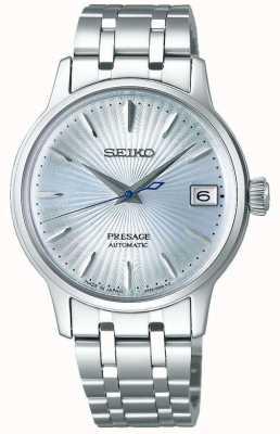 Seiko   presságio   mulheres   pulseira de aço inoxidável   mostrador azul   SRP841J1
