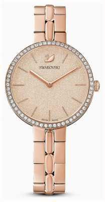 Swarovski | cosmopolita | pulseira de metal | banhado a ouro rosa pvd | 5517800