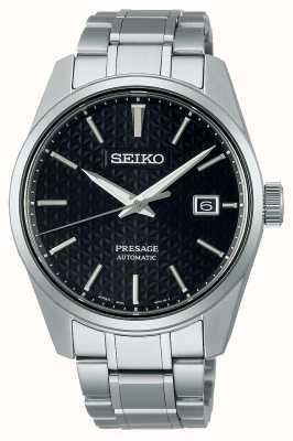 Seiko Presage masculino série de mostrador preto SPB203J1