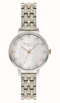 Radley | mulheres | pulseira de aço bicolor | mostrador branco | RY4559