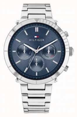 Tommy Hilfiger Emery | pulseira de aço inoxidável para senhora | mostrador azul 1782349