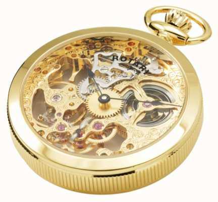 Rotary Homens | mecânico | banhado a ouro | bolso MP00727/01