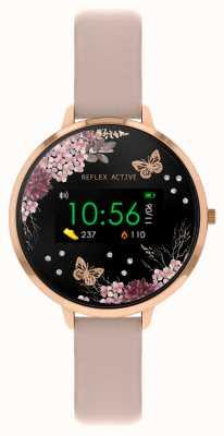 Reflex Active Relógio inteligente da série 3 | tira rosa nude RA03-2014