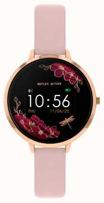 Reflex Active Relógio inteligente da série 3   tira rosa nude RA03-2038
