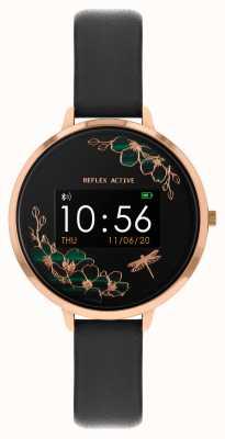 Reflex Active Relógio inteligente da série 3 | alça preta RA03-2040