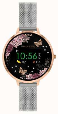 Reflex Active Relógio inteligente da série 3   pulseira de malha de aço inoxidável RA03-4037