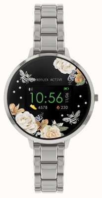 Reflex Active Relógio inteligente da série 3 | pulseira de aço inoxidável RA03-4007