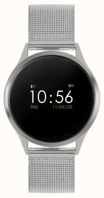 Reflex Active Relógio inteligente da série 4 | tela de toque colorida | pulseira de malha de aço inoxidável RA04-3001