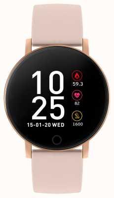 Reflex Active Relógio inteligente da série 5 | monitor hr | tela de toque colorida | alça rosa RA05-2020