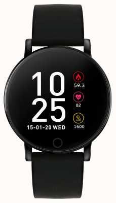 Reflex Active Relógio inteligente da série 5 | monitor hr | tela de toque colorida | alça preta RA05-2022