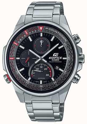 Casio Edifice | cronógrafo de safira fino | pulseira de aço inoxidável EFS-S590D-1AVUEF