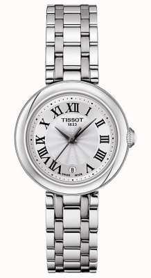 Tissot Bellissima | mostrador prateado | pulseira de aço inoxidável T1260101101300
