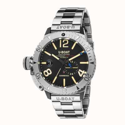 U-Boat Sommerso / a em pulseira de aço inoxidável 9007/A/MT