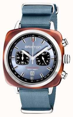 Briston | clubmaster sport | acetato | gelo azul | 20142.SA.TS.25.NIB