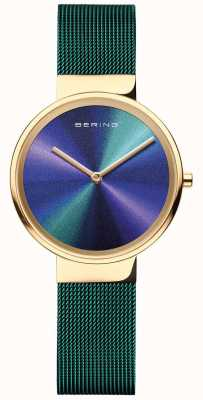 Bering Classic | mulheres | malha verde | mostrador multicolorido 19031-828