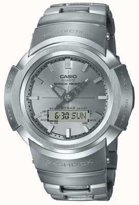 Casio G-shock | pulseira totalmente em metal | Rádio-controlado AWM-500D-1A8ER