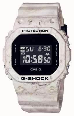 Casio G-shock | mármore ondulado utilitário | tela digital DW-5600WM-5ER