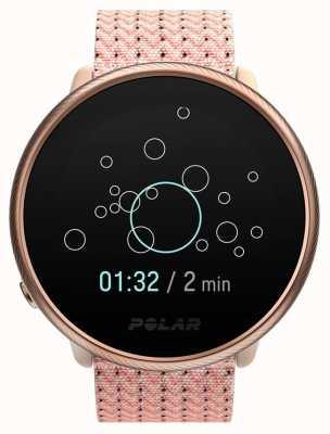 Polar Ignite 2 | rosa e rosa | atividade e rastreador de hora | pulseira de tecido rosa | s / m 90085186