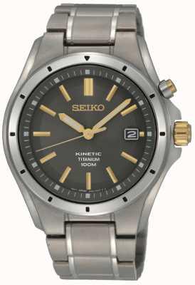 Seiko Cinética de titânio para homem SKA765P1